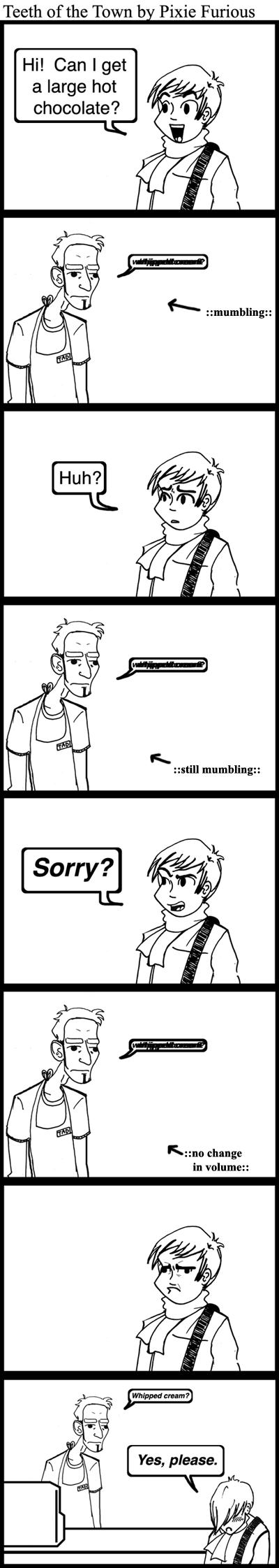 Mumbling Mumbleweeds